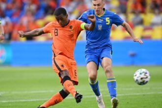 Wijnaldum zet Oranje op 1-0 tegen Oekraïne!