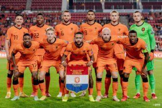Vermoedelijke opstelling voor Nederland – Gibraltar