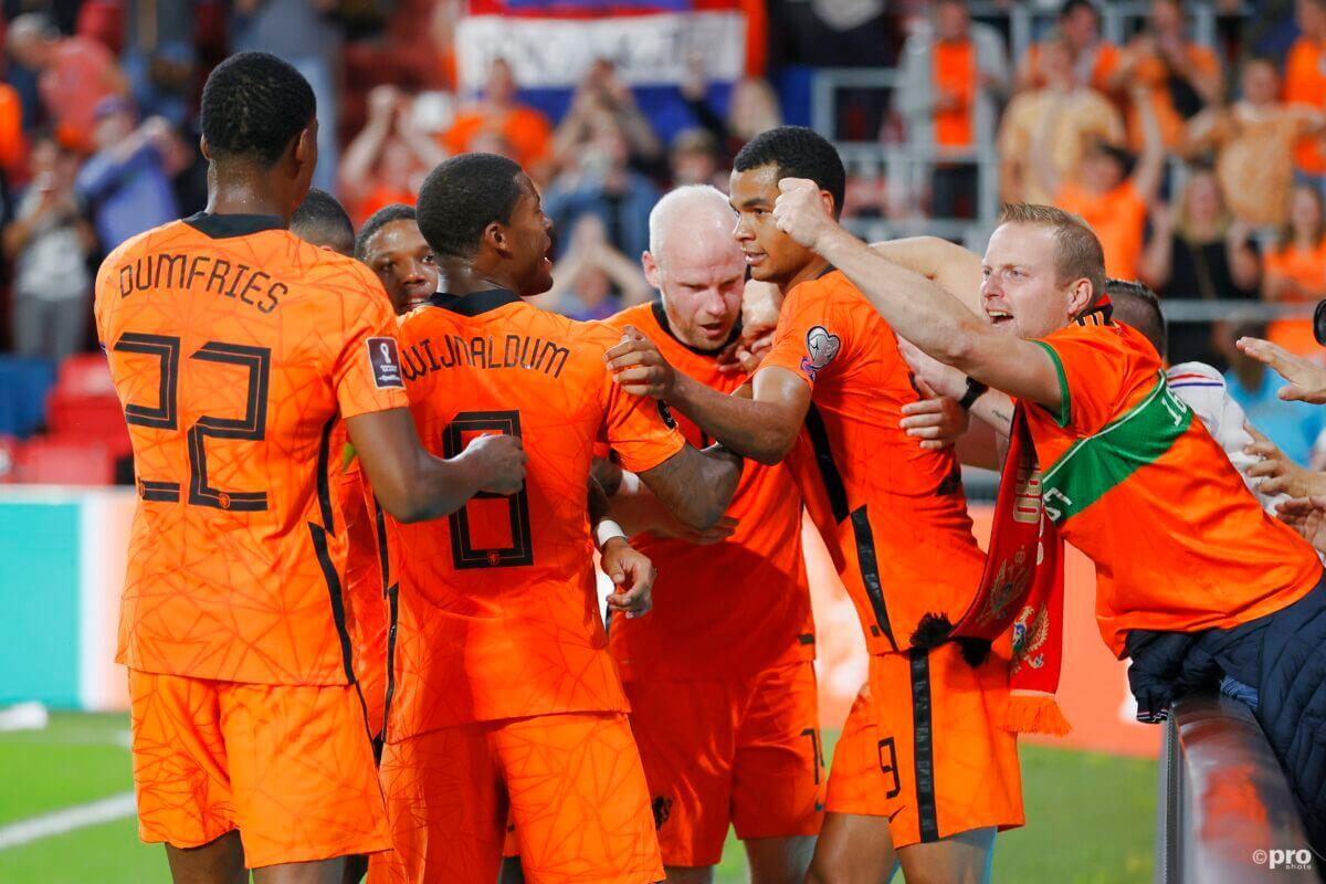 de nieuwe stand in de wk kwalificatiepoule van Oranje