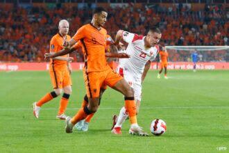 Gakpo maakt schitterend zijn eerste Oranje-goal