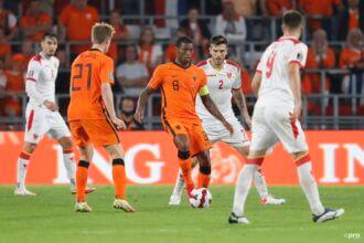 Wijnaldum zet Oranje op 3-0
