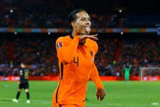 Oranje doet zijn plicht tegen Gibraltar (6-0)