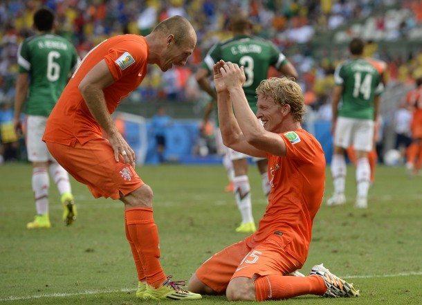 Dirk Kuyt had Oranje kunnen redden
