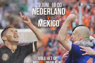 Liveblog: Nederland – Mexico (WK 2014)