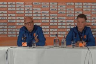 Van Gaal: 'Het was een emotionele ochtend'