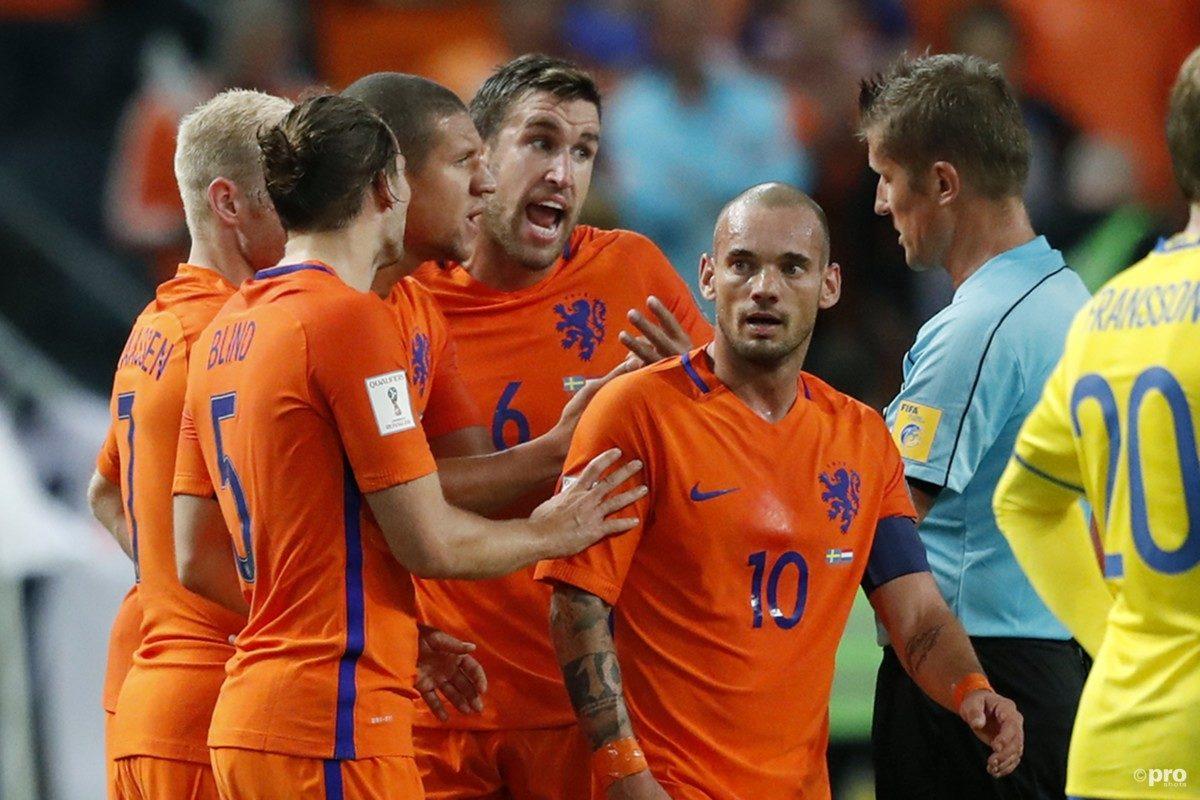 Wk kwalificatie Nederland - Frankrijk