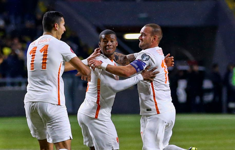 Oranje scoort tegen Kazachstan