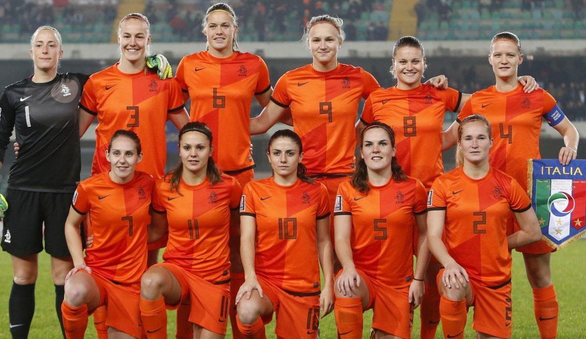 WK voorselectie Oranjevrouwen