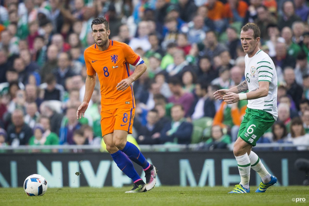 Kevin Strootman tegen Ierland