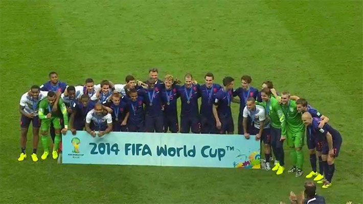 Een jaar geleden maakte Oranje Brazilie in
