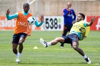 Felle training van Oranje in Lagos
