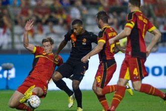 oefenwedstrijd Nederland - België