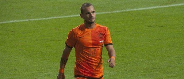 Wesley Sneijder speelt in Oranje