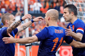 Robben Persie en Sneijder
