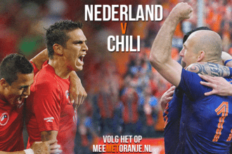 Groepswedstrijd Nederland - Chili