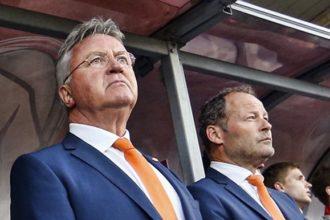 Hiddink weg bij Oranje