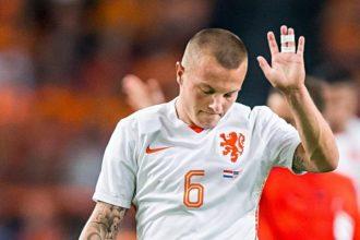Jordy Clasie ontbreekt tegen Letland