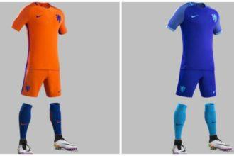 KNVB presenteert nieuwe tenue Nederlands elftal
