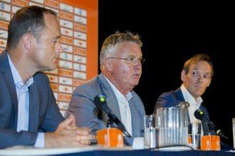 KNVB wilde Hiddink behouden