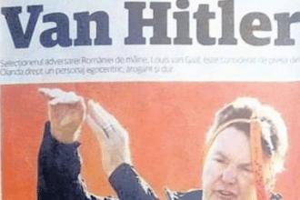 """Roemeense krant """"Van Hitler"""""""