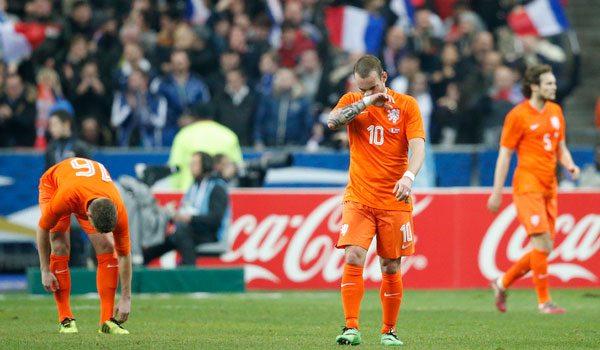 Wesley Sneijder Frankrijk Nederland
