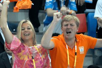 Maxima juicht voor Nederland