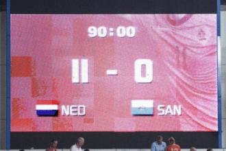 Nederland speelt 100e EK-kwalificatieduel