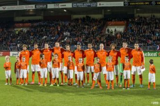 Opstelling Jong Oranje bekend