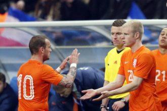 Vermoedelijke opstelling Nederland - Spanje