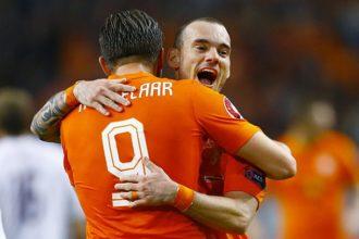 Vermoedelijke opstelling Kazachstan – Nederland