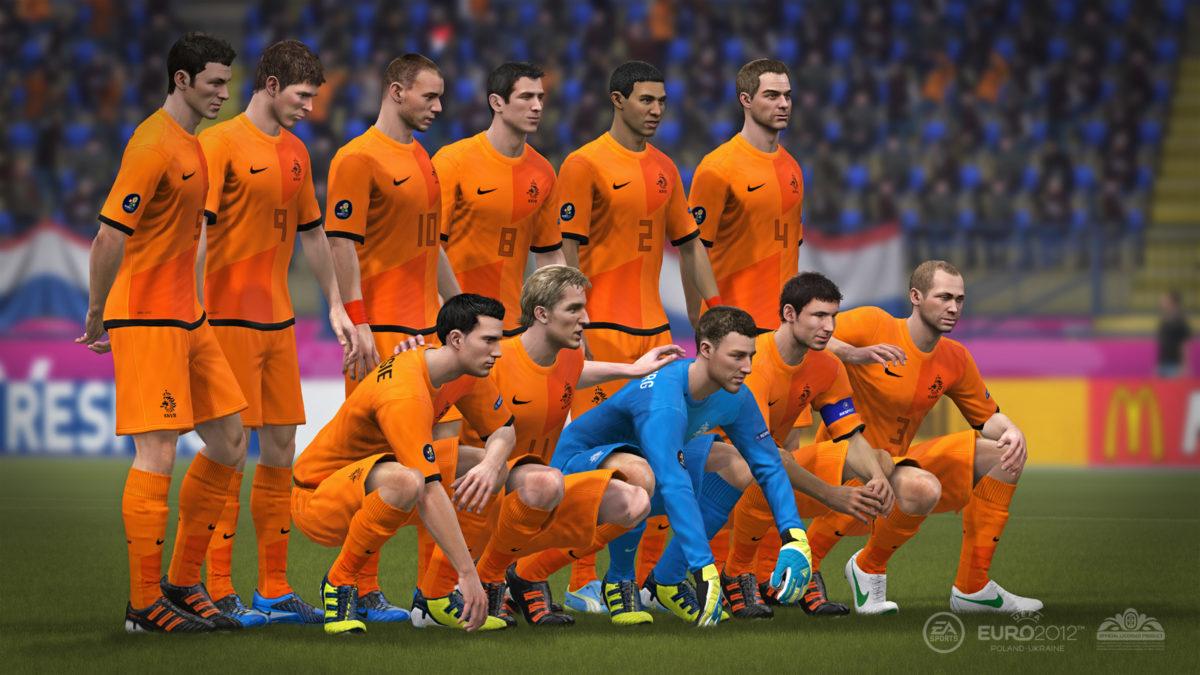 Eerste Foto Van Het Nederlands Ek Elftal Digitaal Mee Met Oranje