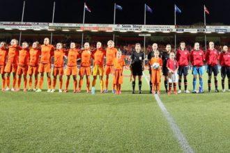 Oranje Leeuwinnen oefenen ook tegen Zweden