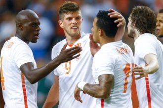 Oranje met fitte ploeg naar Letland