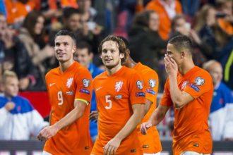 Nederlands elftal op weg naar jubileum