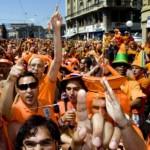 Oranje supporters hebben minder vertrouwen