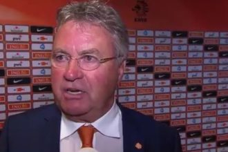 Reactie Hiddink na Nederland – Verenigde Staten