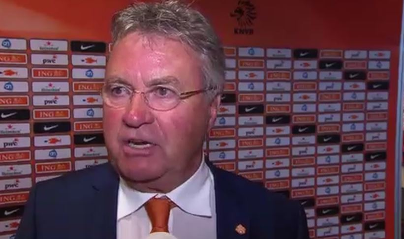 Guus Hiddink na Nederland - VS