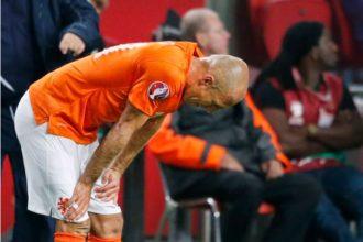 Robben met blessure terug naar München