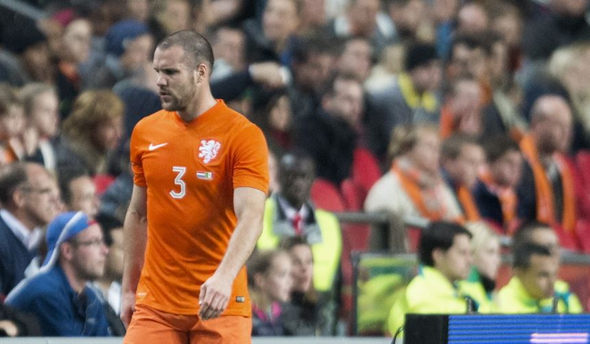 Ron Vlaar bij Oranje