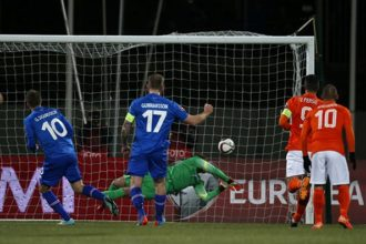 Samenvatting: IJsland – Nederland (2-0)