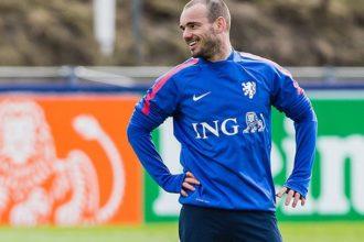 Sneijder blijft positief: 'De Turken maken een misstap'