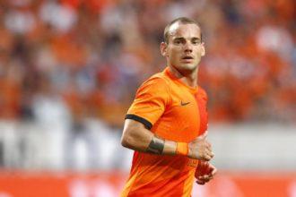 Sneijder in oranje