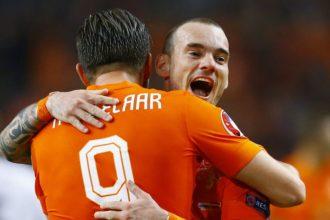 Wesley Sneijder gaat keihard juichen