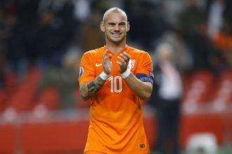 Sneijder jaagt op record Van der Sar