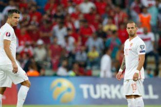 Sneijder en Van Persie