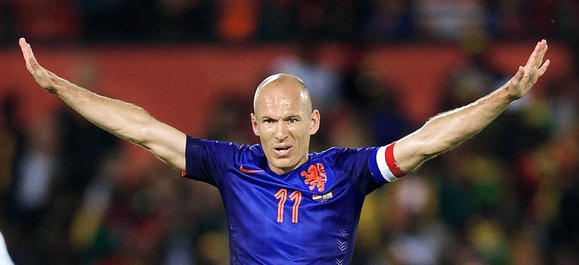 Arjen Robben volgens Spaanse media aan de doping