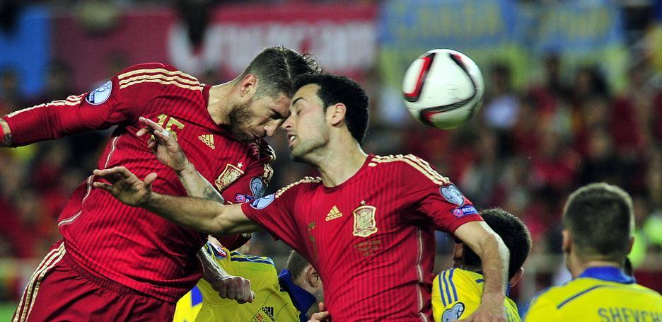Spanje met compleet ander team
