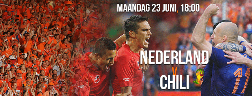 Nederland - Chili