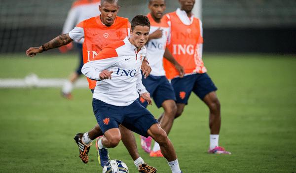 Ibrahim Afellay start in de basis tegen Kazachstan