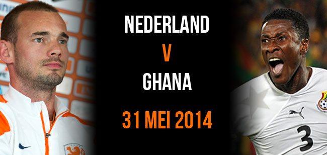 Nederland v Ghana